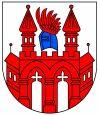 herb miasta Neubrandenburg (Niemcy)