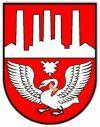 herb miasta Neumünster (Niemcy)