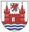 herb miasta Schwedt nad Odrą (Niemcy)