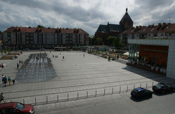 Widok na Rynek Staromiejski