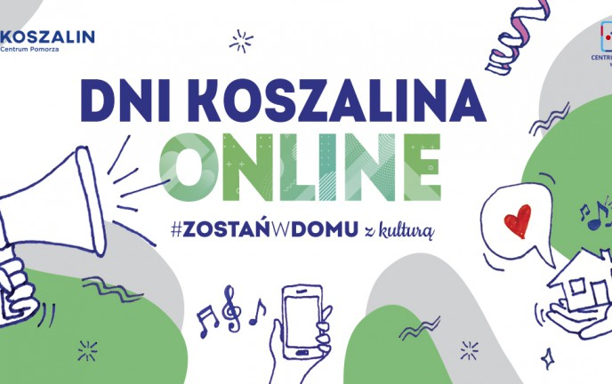 "Grafika z tekstem ""Dni Koszalina 2020"""