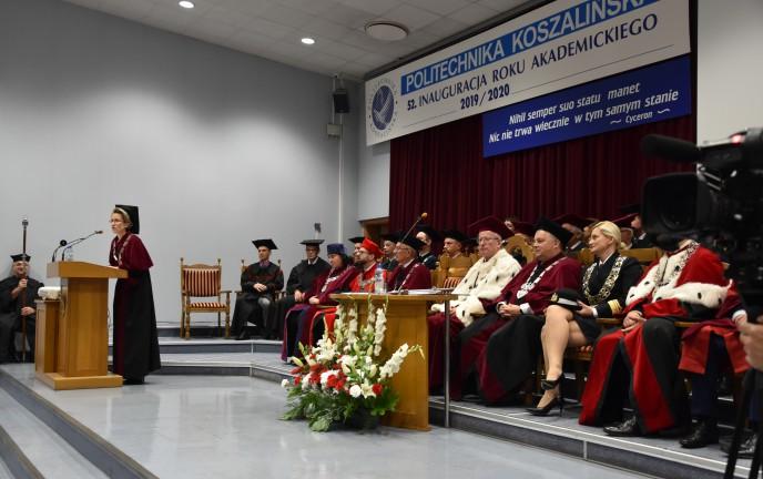 Inauguracja roku akademickiego Politechnika Koszalińska