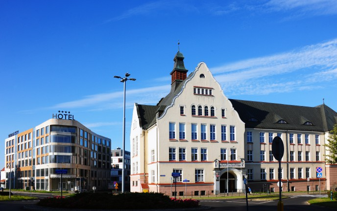 Na zdjęciu budynek I LO w Koszalinie