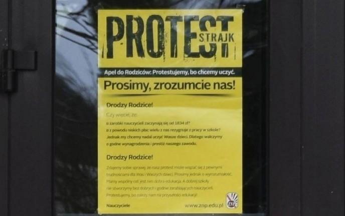 Akcja protestacyjna nauczycieli, egzamin ósmoklasistów