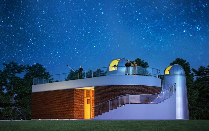 Wizualizacja Szkolnego Obserwatorium  Astronomicznego