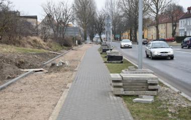 Budowa ścieżki rowerowej wzdłuż ulicy Morskiej