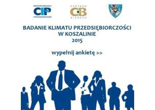Przejdź do: Badanie klimatu przedsiębiorczości w Koszalinie 2015
