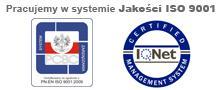 Przejdź do: Pracujemy w systemie jakości ISO 9001