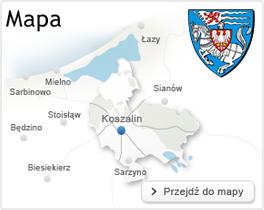 Mapa koszalina
